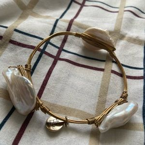 Jewelry - Crushed White Abalone Pearl Bracelet